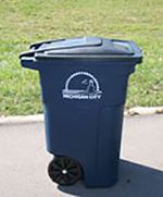 Sanitary District Trash Container